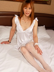 Kirea is a classy Kyoto shemale who loves to shoot a big load while being fucked in her tight she-pussy!
