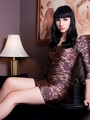 Sweet transsexual Bailey Jay showing her huge dick